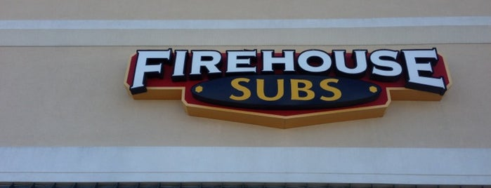 Firehouse Subs is one of Steven's Liked Places.