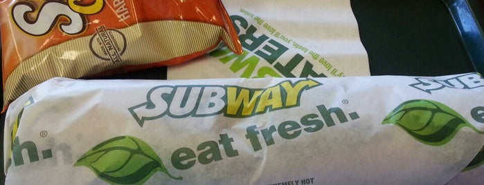 SUBWAY is one of /lunch.