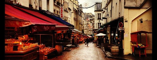 Rue Mouffetard is one of PARIS - EAT.