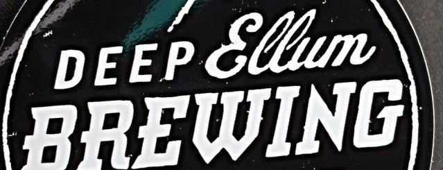 Deep Ellum Brewing Company is one of DFW Craft Beer.