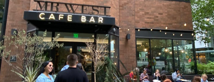 Mr. West Cafe Bar is one of Seattle Noms.