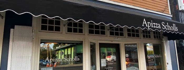 Apizza Scholls is one of Portlandia Sept 2014.