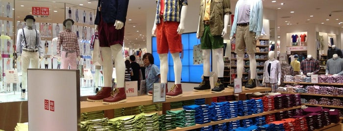 UNIQLO is one of Lugares favoritos de Vee.