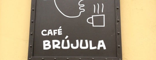 Café Brújula is one of México​.