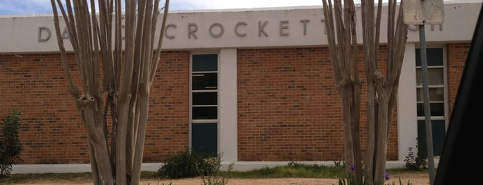 Crockett High School is one of Posti che sono piaciuti a Ruby.