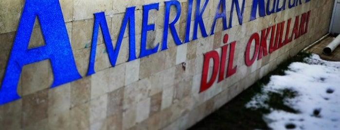 Amerikan Kültür Derneği Yabancı Dil Kursu is one of Orte, die sezer gefallen.