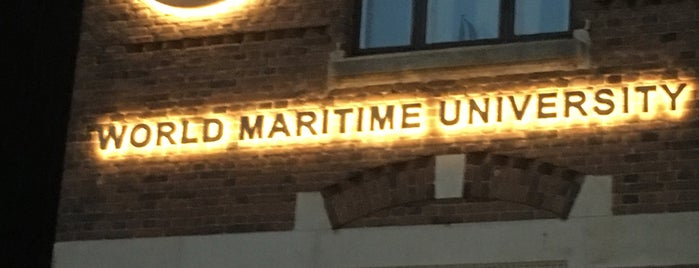 World Maritime University is one of Malmö.