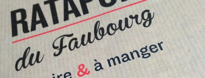 Le Ratapoil du Faubourg is one of So Paris : trendy bistronomie.