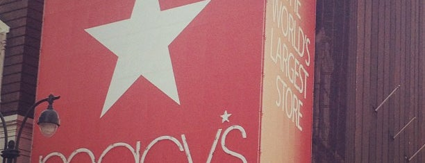 Macy's is one of NYC must!!.