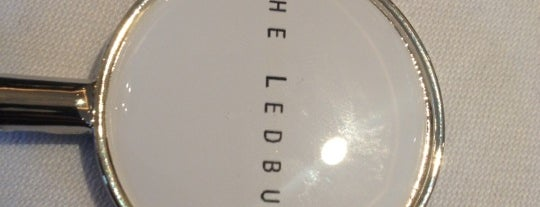 The Ledbury is one of London Food.