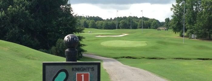 Knight's Play Golf Center is one of Posti che sono piaciuti a Ryan.
