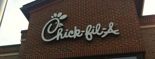 Chick-fil-A is one of Tamara : понравившиеся места.