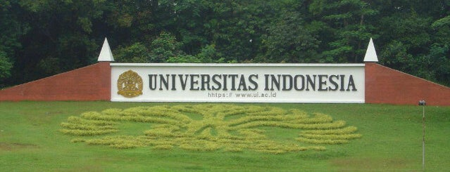Universitas Indonesia is one of Lugares favoritos de Arie.