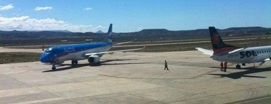 Aeropuerto de Comodoro Rivadavia - Gral. Enrique Mosconi (CRD) is one of Chubut.