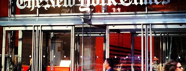 The New York Times Building is one of NYC Work Spaces & Tech Startups.