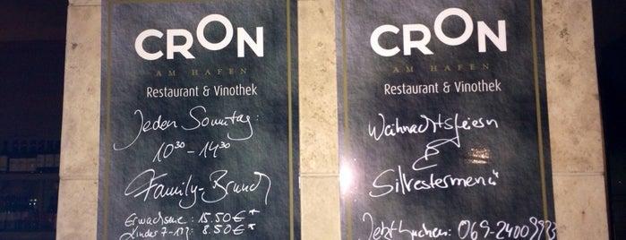 Cron am Hafen is one of Frankfurt Restaurant.