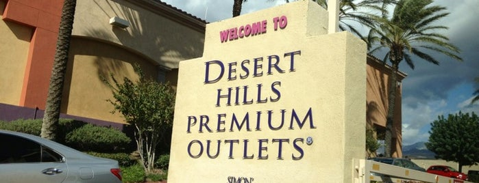 Desert Hills Premium Outlets is one of CL.
