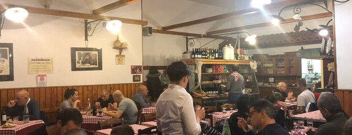Trattoria Dell'Omo is one of Rom To Do.