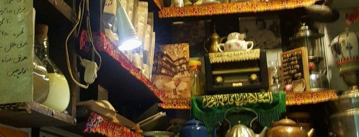 Haj Ali Darvish Hookah Bar | قهوه خانه حاج علی درویش is one of สถานที่ที่บันทึกไว้ของ Nora.