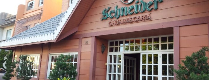 Churrascaria Schneider is one of Porto Alegre.
