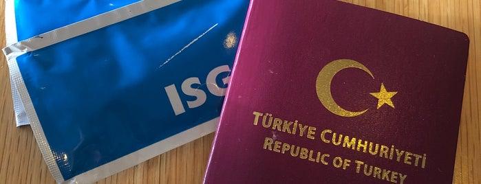 ISG International CIP Lounge is one of Orte, die Emine gefallen.
