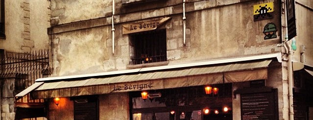 Le Sévigné is one of Paris.