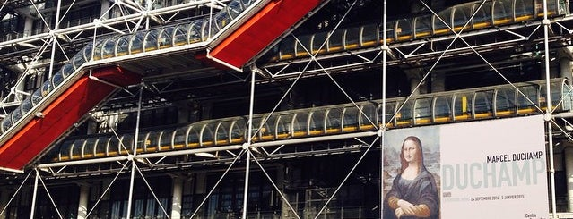 Centre Pompidou – Musée National d'Art Moderne is one of Bienvenue en France !.