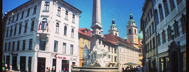 Mestni trg is one of Ljubljana.