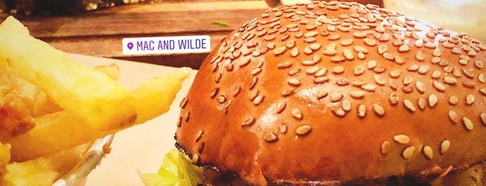 Mac and Wild is one of Бургеры в Лондоне.