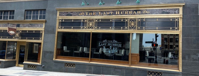 The Last Hurrah is one of Whisky Bars @ NYC & Boston.