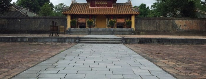 Lăng Minh Mạng (Minh Mang Tomb) is one of Jas' favorite urban sites.