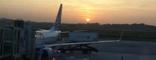 Copa Airlines CM446 is one of Locais curtidos por Darryl.