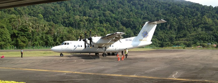 Pulau Tioman Airport (TOD) is one of Ruslanさんの保存済みスポット.