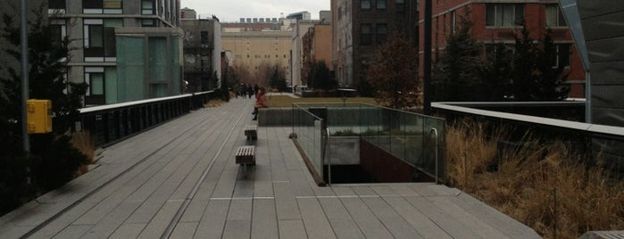 High Line is one of Places near and dear.
