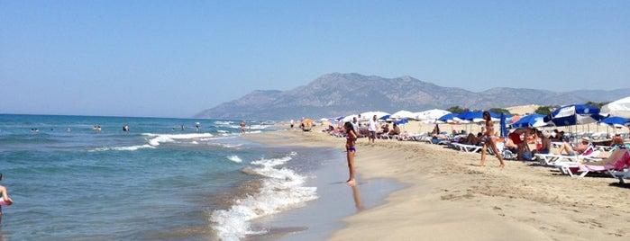 Patara Plajı is one of Tempat yang Disukai ♏️UTLU.
