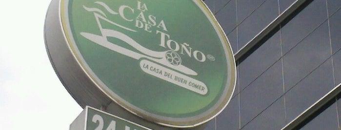La Casa de Toño is one of Mexico DF.
