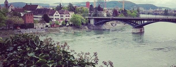 Basler Münster is one of Basel.