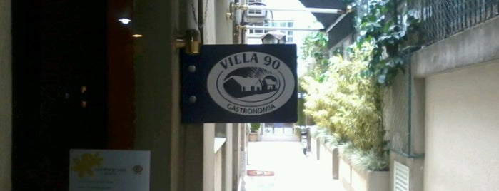 Villa 90 Gastronomia is one of สถานที่ที่ Samantha ถูกใจ.