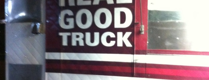 Real Good Truck is one of Food Truck Heaven NYC.