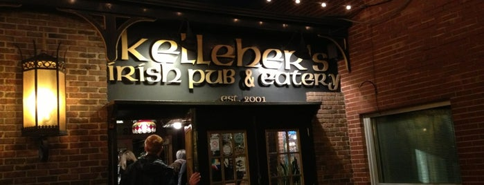 Kelleher's Irish Pub & Eatery is one of Shuffle Board.