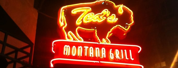 Ted's Montana Grill is one of Jezebel Magazine's 100 Best Restaurants 2013.