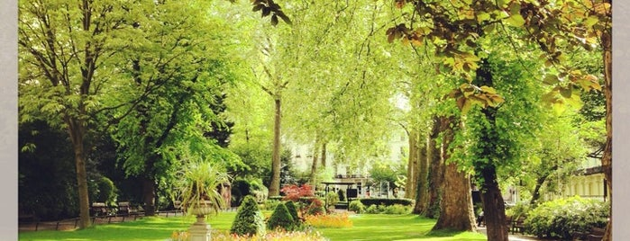 Porchester Square Gardens is one of London Nature.