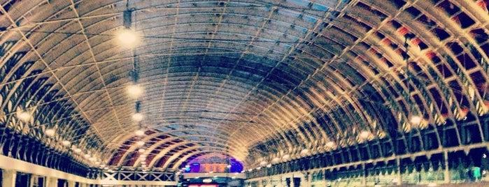 London Paddington Railway Station (PAD) is one of My London.