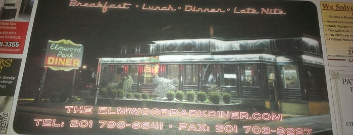 Elmwood Park Diner is one of Lizzieさんの保存済みスポット.