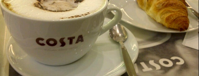 Costa Coffee is one of Posti che sono piaciuti a Lyu.