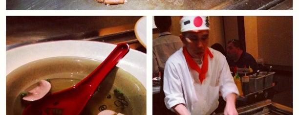 Kiku Hibachi Grill & Sushi Bar is one of Locais curtidos por Stephanie.