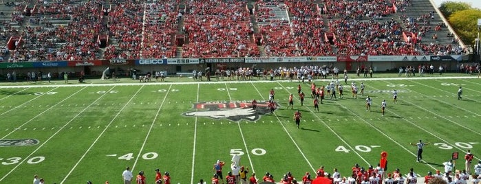 Huskie Stadium is one of FBS Stadiums.