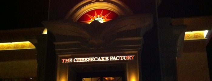 The Cheesecake Factory is one of My trip to Florida.