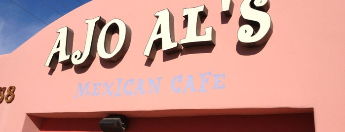 Ajo Al's Mexican Cafe is one of Restaurants.