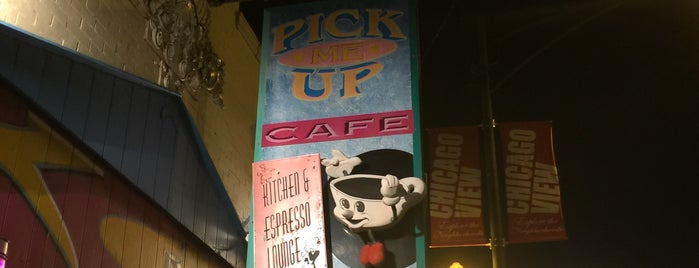 Pick Me Up Café is one of Chicago.